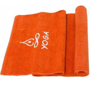Коврик для йоги из хлопка Orange + чехол