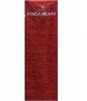 Коврик для йоги из хлопка Yoga Heart + чехол