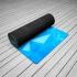 Каучуковый коврик для йоги Antarctica с покрытием из микрофибры