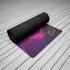 Каучуковый коврик для йоги Asia с покрытием из микрофибры