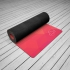 Каучуковый коврик для йоги Australia с покрытием из микрофибры