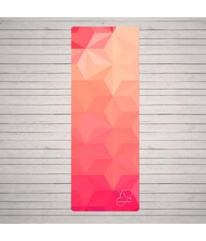 Каучуковый коврик для йоги Yoga ID Australia с покрытием из микрофибры