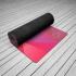 Каучуковый коврик для йоги Europe Soft 6мм с покрытием из микрофибры