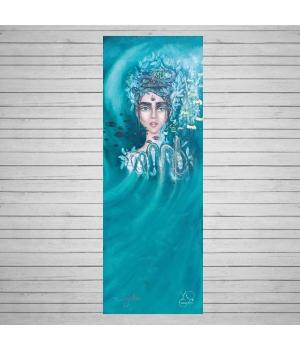 Каучуковый коврик для йоги Yoga ID Shakti с покрытием из микрофибры