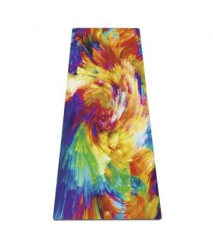 Коврик для йоги Holy YM из микрофибры и каучука
