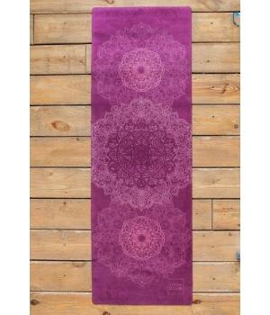 Коврик для йоги Mandala YC из микрофибры и каучука