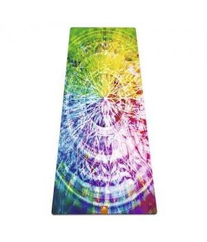 Коврик для йоги Mandala YM из микрофибры и каучука