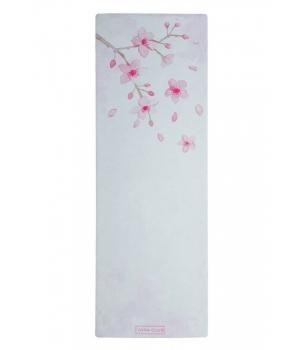 Коврик для йоги White YC из микрофибры и каучука