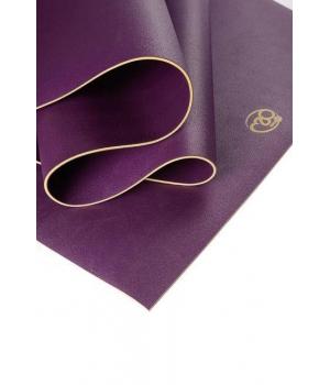 Коврик для йоги YogaMad SuperGrip 4мм из каучука фиолетовый
