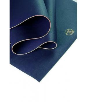 Коврик для йоги YogaMad SuperGrip 4мм из каучука синий