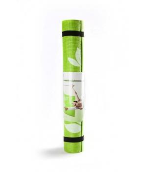 Коврик для йоги Flower зеленый