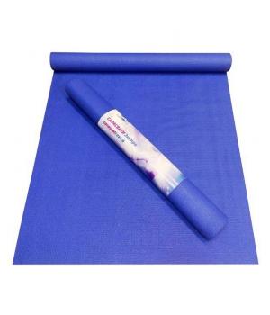 Коврик для йоги Сарасвати Экстра 185 см синий