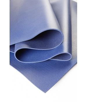 Коврик для йоги Comfort PRO (KURMA) 200х60х6,5мм синий