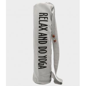 """Чехол для коврика """"Do Yoga"""" 70 см - Белый"""