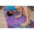 Каучуковый коврик для йоги с покрытием из микрофибры EGOyoga 183*66*0,3 см - Indian Lotus