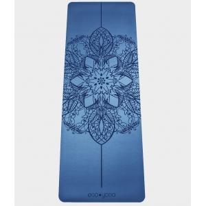 Каучуковый коврик с покрытием Non-Slip EGOyoga 185*68*0,4 см - Mandala Blue