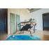 Каучуковый коврик для йоги с покрытием из микрофибры EGOyoga 183*66*0,3 см - Ocean