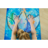 Каучуковый коврик для йоги с покрытием из микрофибры EGOyoga 183*66*0,3 см - Practice