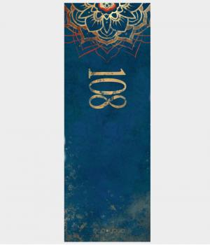 Каучуковый коврик с покрытием из микрофибры EGOyoga 183*66*0,3 см - Yoga Mat 108