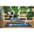 Каучуковый коврик для йоги с покрытием из микрофибры EGOyoga 183*66*0,3 см - Chakras