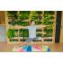 Каучуковый коврик для йоги с покрытием из микрофибры EGOyoga 183*66*0,3 см - City
