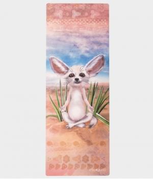 Каучуковый коврик с покрытием из микрофибры EGOyoga 183*66*0,3 см - Desert