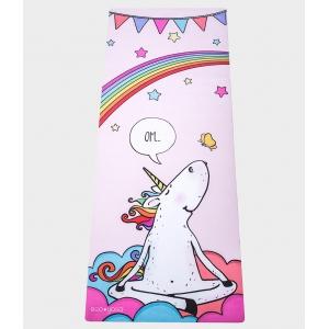 Детский коврик с покрытием из микрофибры EGOyoga 150*61*0,3 см - Unicorn