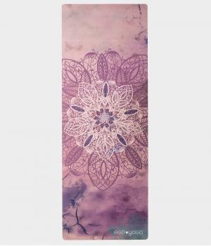 Каучуковый коврик с покрытием из микрофибры EGOyoga 183*66*0,3 см - Sky