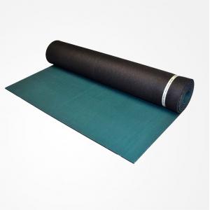 Коврик для йоги из каучука Jade Harmony Elite S 180*61*0,5 см темно-зеленый/черный