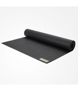Коврик для йоги из каучука Jade Travel 173*60*0,3 см - Чёрный