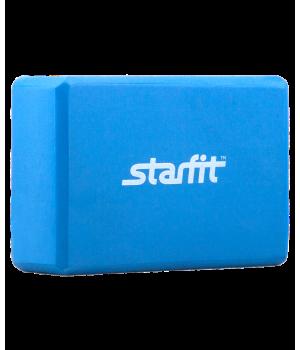 Блок для йоги Starfit синий 23см 15см 8см