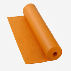 Коврик для йоги Bodhi Rishikesh 185см 80см 4,5мм оранжевый