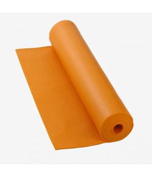 Коврик для йоги Bodhi Rishikesh 220см 60см 4,5мм оранжевый