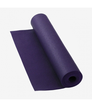Коврик для йоги Bodhi Rishikesh 185см 60см 4,5мм фиолетовый