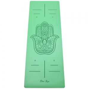 Каучуковый коврик с покрытием Non-Slip Devi Yoga 185*68*0,4 - Hamsa