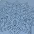 Каучуковый коврик для йоги с покрытием Non-Slip Devi Yoga 185*65*0,4 - Mandala