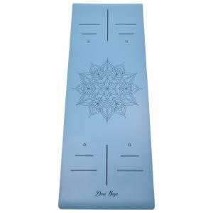 Каучуковый коврик для йоги с покрытием Non-Slip Devi Yoga 185*68*0,4 - Mandala