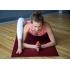 Каучуковый коврик Devi Yoga Elements 183*61*0,4 см - Бордовый