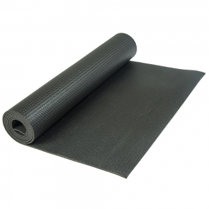 Каучуковый коврик Devi Yoga Elements 183*61*0,4 см - Черный