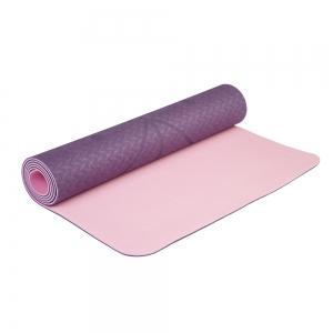 Коврик для йоги Devi Yoga Fruits из ТПЕ с разметкой 183*61*0,5 см - Ежевика