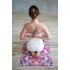 Каучуковый коврик с микрофиброй Devi Yoga 183*61*0,35 см - Калейдоскоп