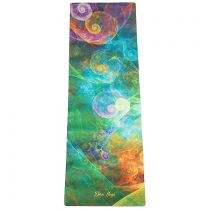 Каучуковый коврик с микрофиброй Devi Yoga 183*61*0,35 см - Мана