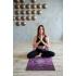 Каучуковый коврик с микрофиброй Devi Yoga 183*61*0,35 см - Ночь