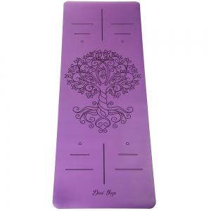Каучуковый коврик для йоги с покрытием Non-Slip Devi Yoga 185*68*0,4 - Tree of Life