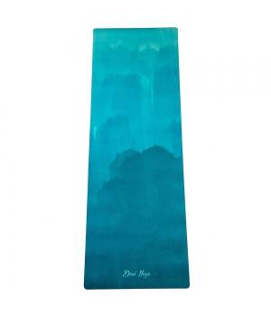 Каучуковый коврик с микрофиброй Devi Yoga 183*61*0,35 см - Воздух