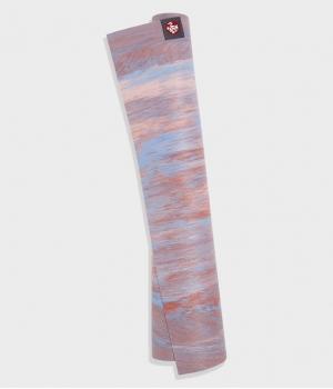 Каучуковый коврик для йоги Manduka eKO Superlite 180*61*0,15 см - Deep Coral Marbled