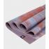 Профессиональный складной каучуковый коврик для йоги Manduka EKO Superlite Travel Mat 180*61*0,15 см - Deep Coral Marbled