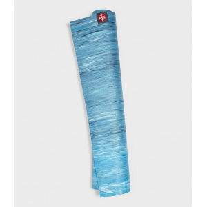 Каучуковый коврик для йоги Manduka eKO Superlite 180*61*0,15 см - Dresden Blue Marbled (Limited Edition)