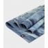 Профессиональный складной каучуковый коврик для йоги Manduka EKO Superlite Travel Mat 180*61*0,15 см - Sea Foam Marbled