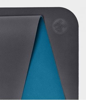 Коврик для йоги для начинающих из ТПЕ Manduka Begin Yoga Mat 172*61*0,5 см - Steel Gray